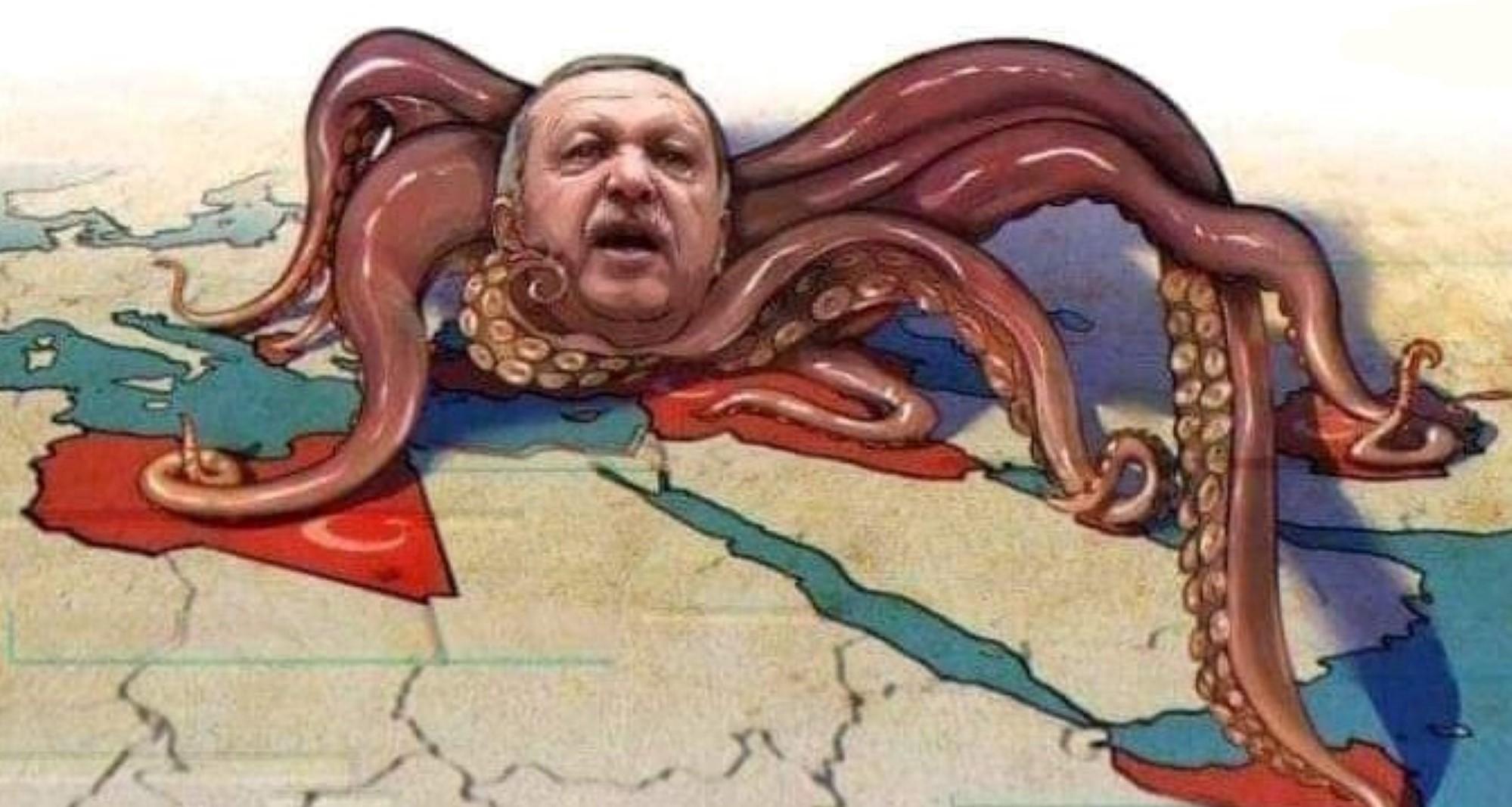 Qui va arrêter la pieuvre turque ? – Kurdistan au féminin